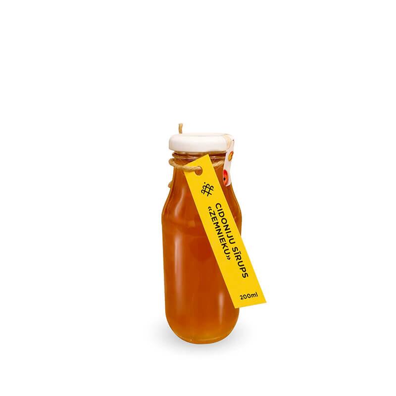 Cidoniju sīrups «Zemnieku» / 200 ml